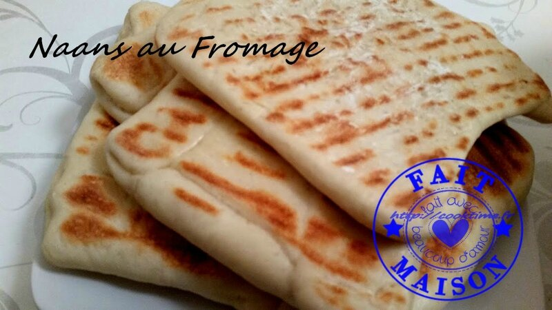 Naans au fromage 6