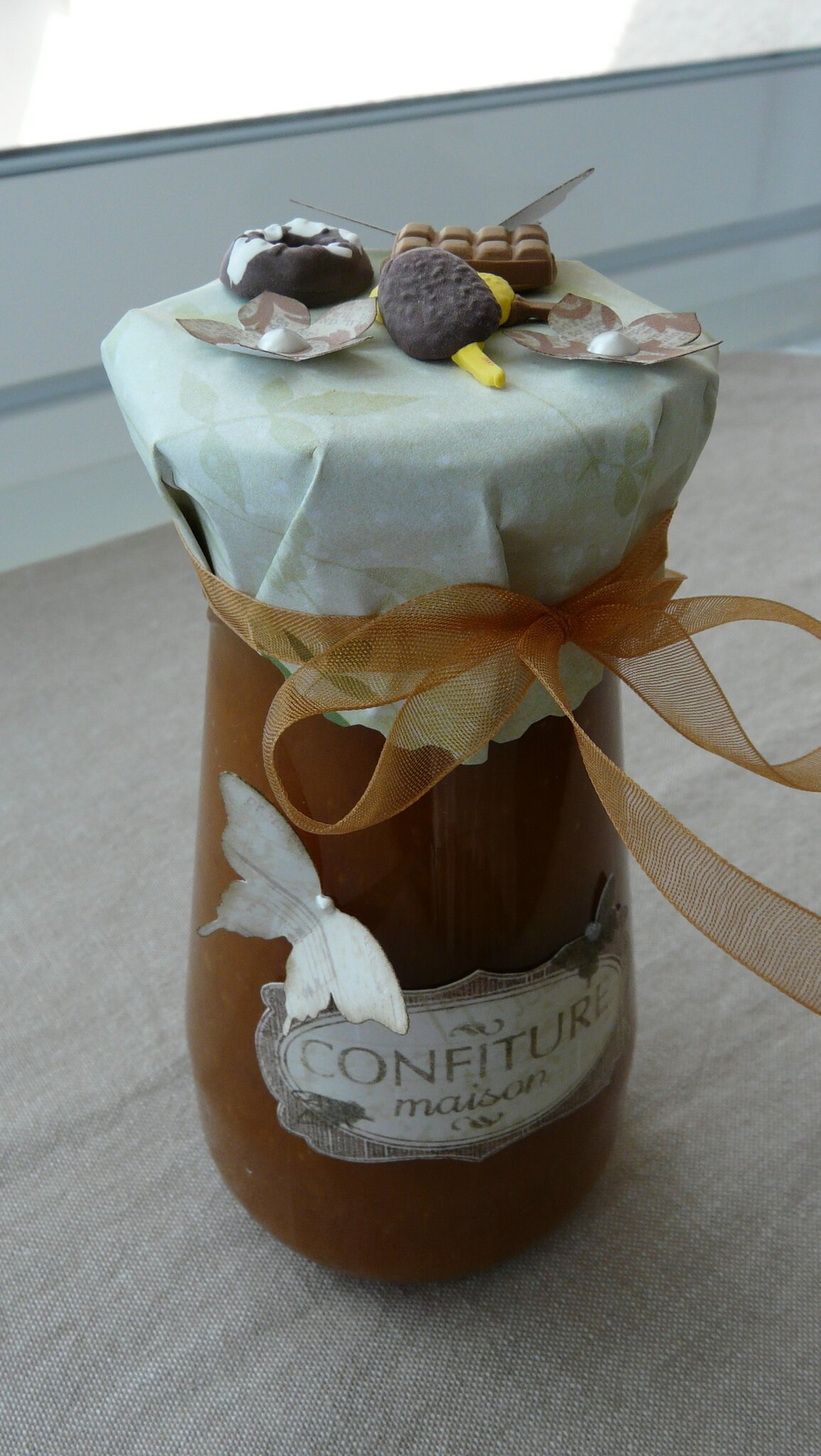 Petit pot de confiture le scrap de cissou - Petit pot confiture ...
