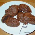 Bouchées choco-cacahuète