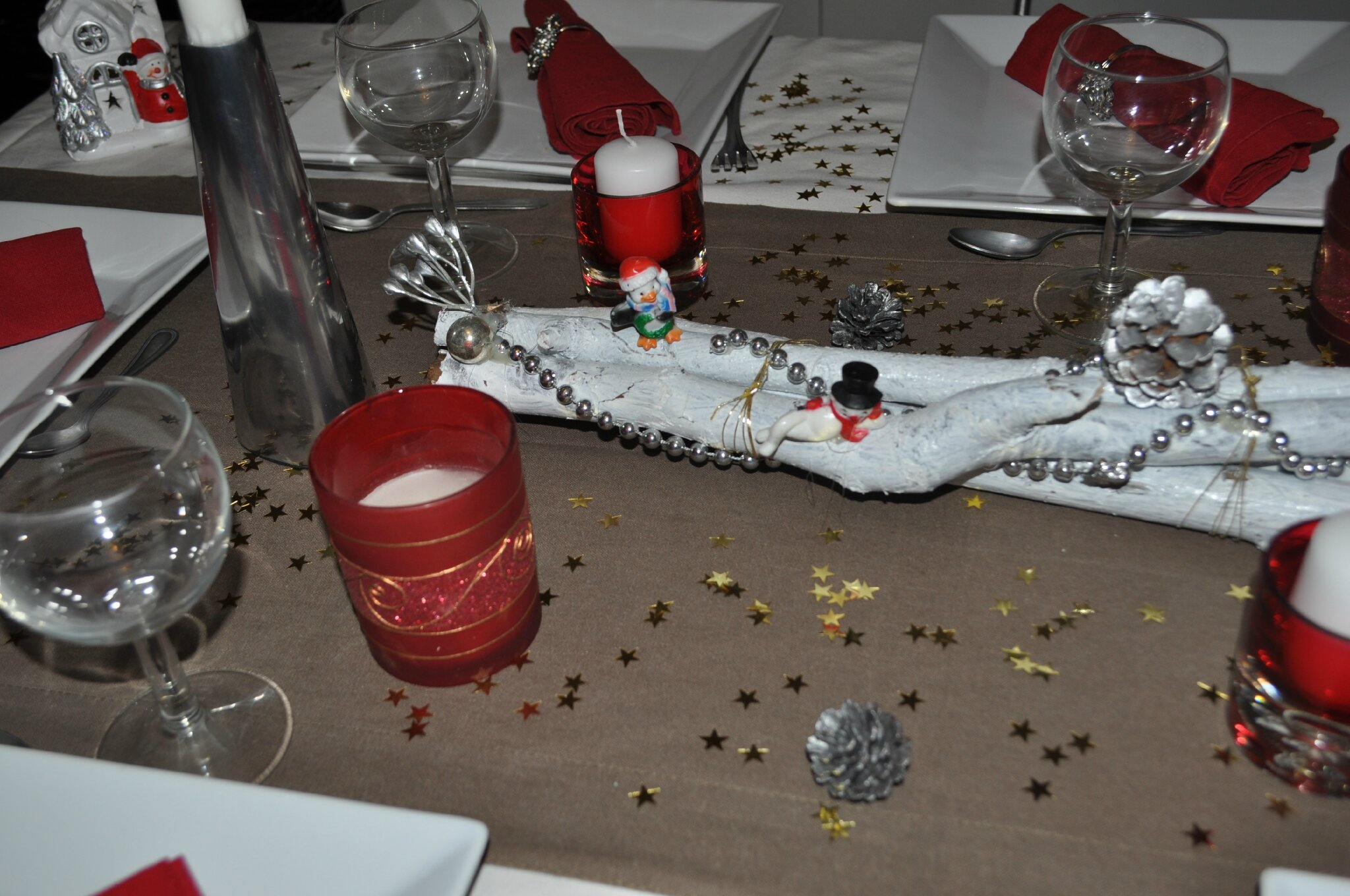 Decoration de table nouvel an 2013 les petits delices de chris - Deco reveillon nouvel an ...