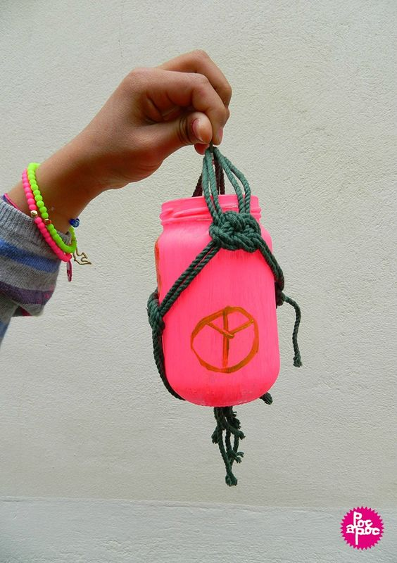 pot suspendu,chachignon,activité enfant,centre de loisir,diy,tutorial,decoration blog