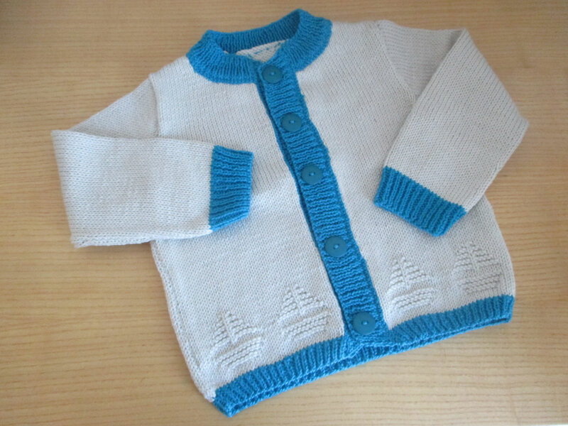 gilet tricot 1