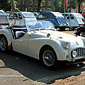 Triumph TR3 roadster (1955-1957) (Retrorencard mai 2011) 01