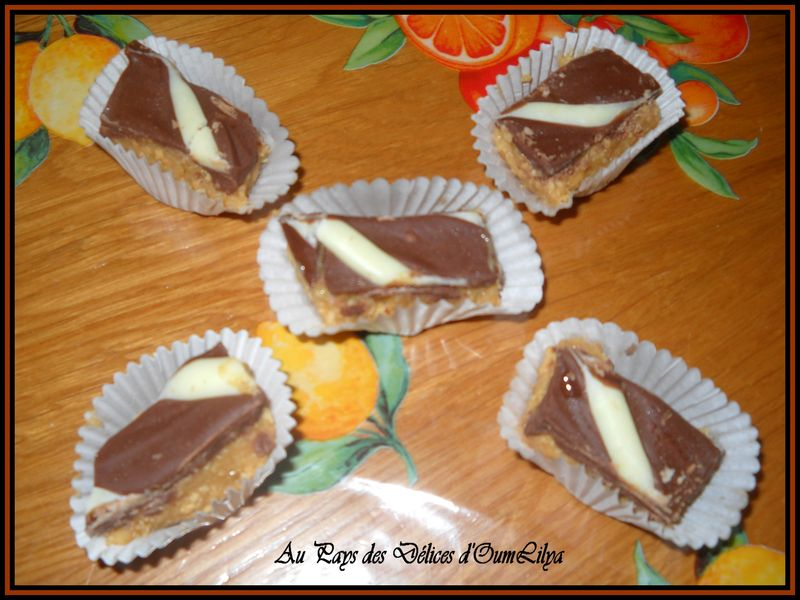 Gateau oriental snickers