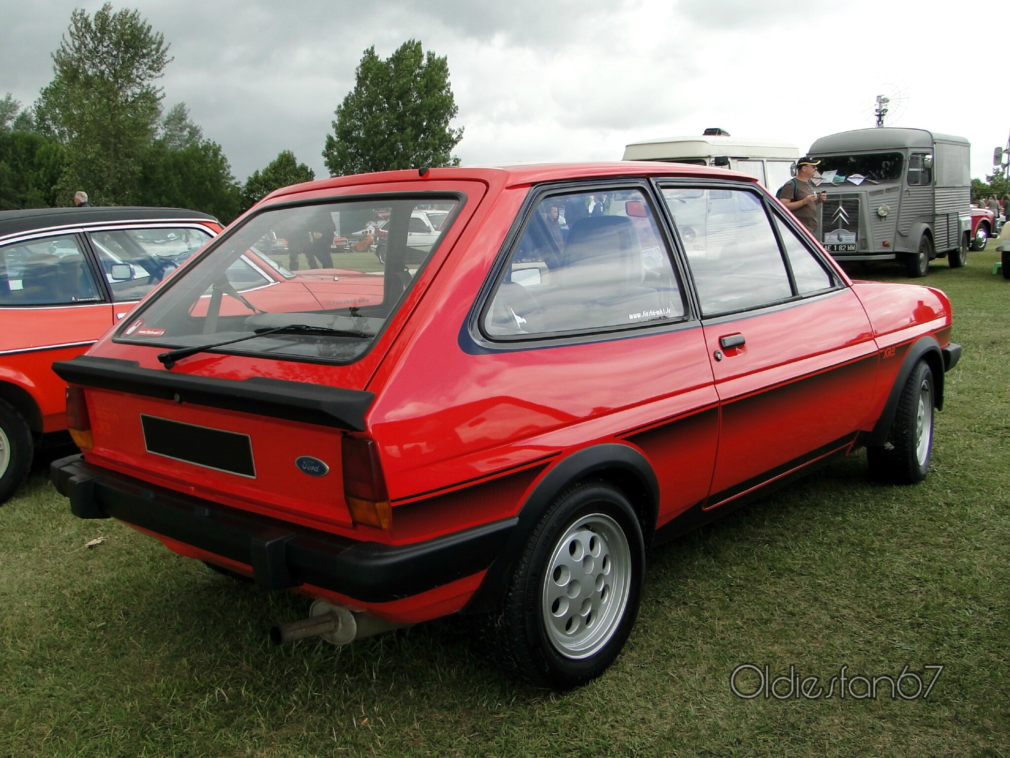 ford fiesta xr2 1982 oldiesfan67 mon blog auto. Black Bedroom Furniture Sets. Home Design Ideas