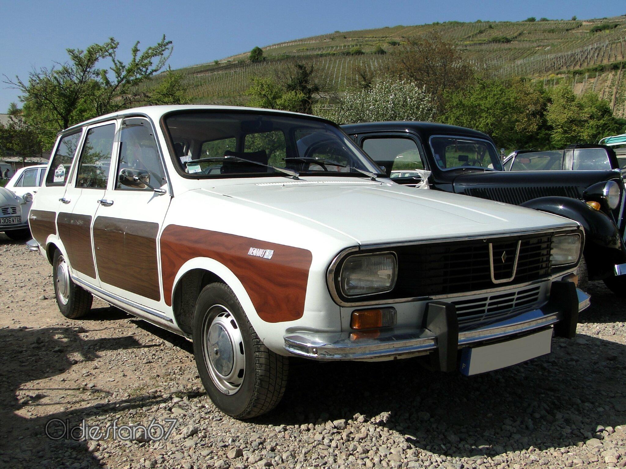 renault 12 break d co camargue s rie 1 1970 1975 oldiesfan67 mon blog auto. Black Bedroom Furniture Sets. Home Design Ideas
