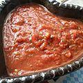 Sauce tomate assaisonnée