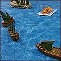 The uncharted seas - chapitre iii de la fuite d'ulthuan - la flotte des elfes noirs