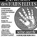 Le kabaret des mains bleues