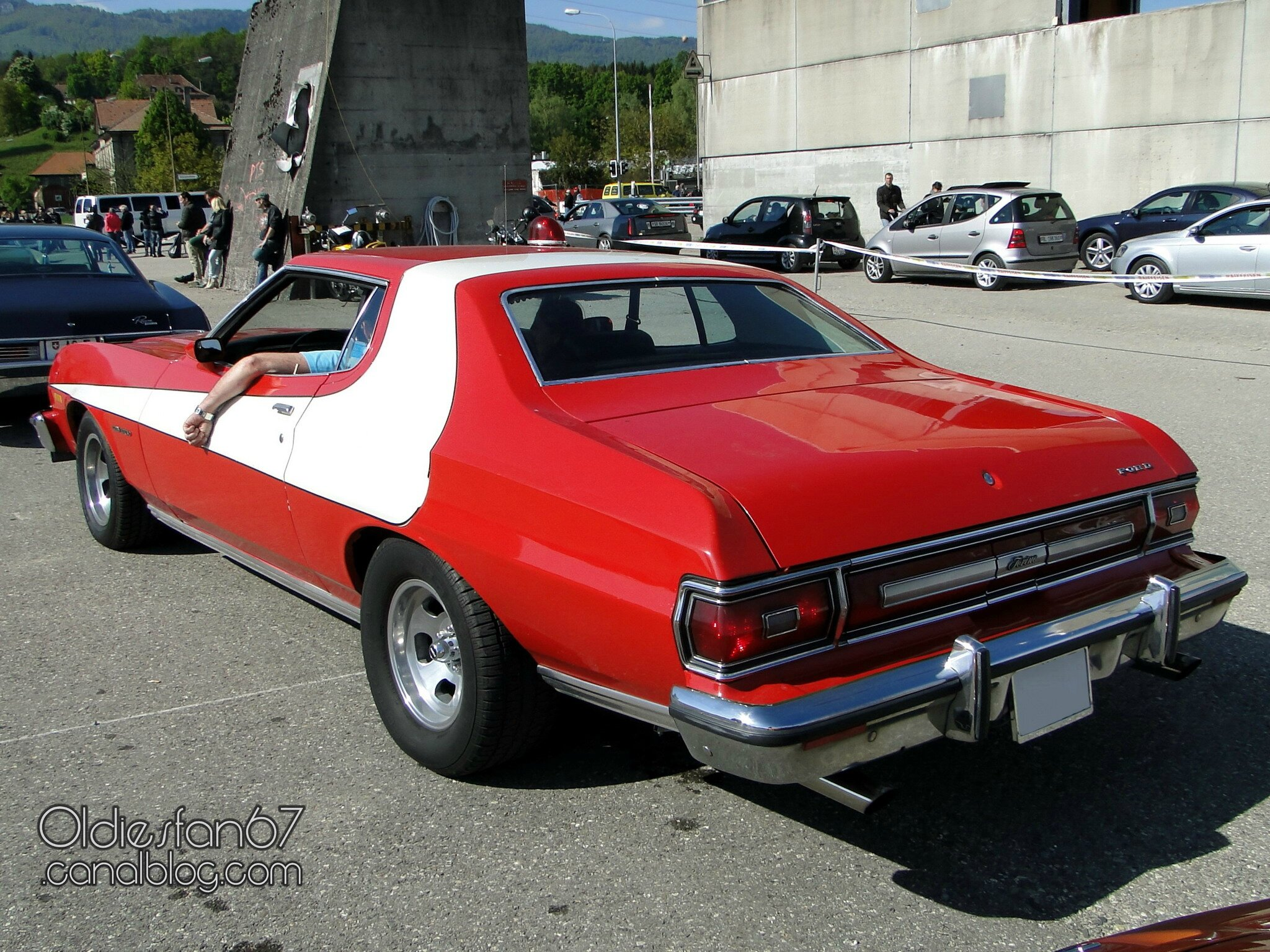ford gran torino sport hardtop coupe starsky and hutch 1974 1976 oldiesfan67 mon blog auto. Black Bedroom Furniture Sets. Home Design Ideas
