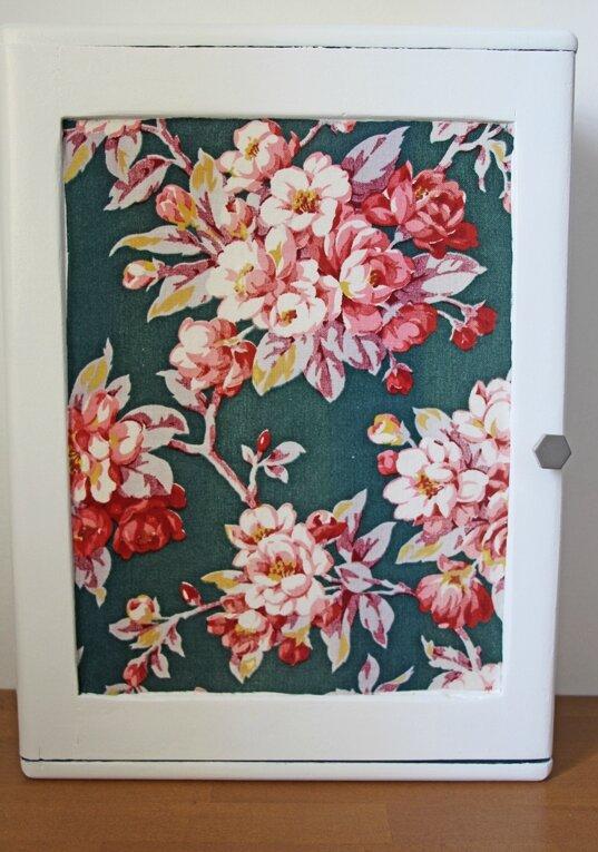 armoire-de-toilette-ancienne-fleurs-face