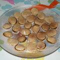 Macarons au caramel
