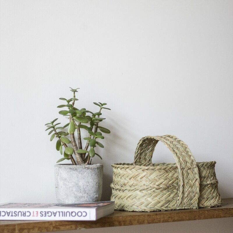 Panier cache-pot esparto 2 TRENDY LITTLE