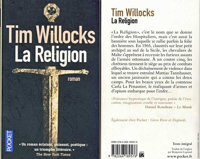La religion Tim Willocks-001