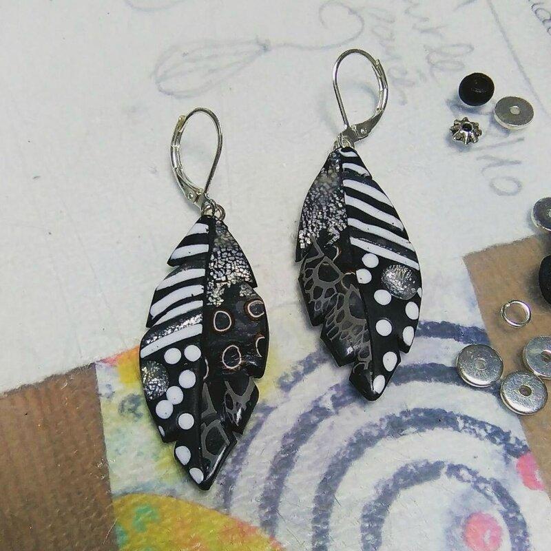 plumes noir blanc_Chifonie