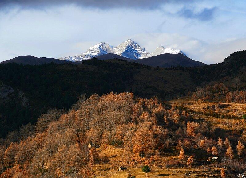 Mont Perdu depuis Bestué