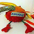 Le Bonhomme à La Pomme pour Adomas