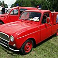 Renault 4 vpi pompiers, 1963