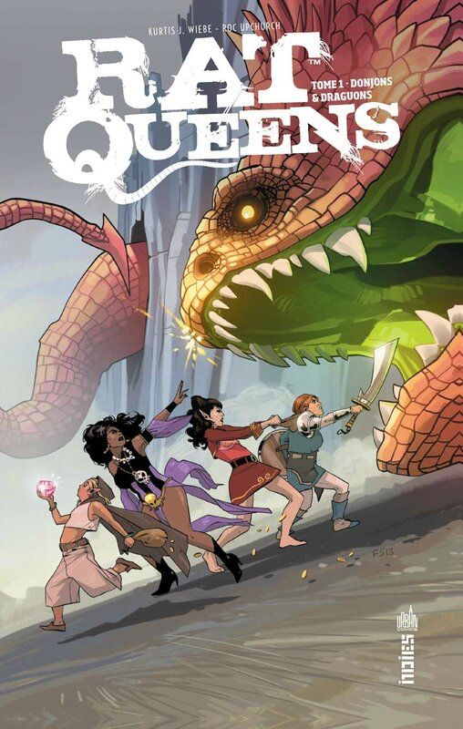 urban indies rat queens 1 donjons et draguons