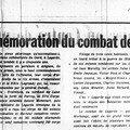 Lagarde - commémoration 1964