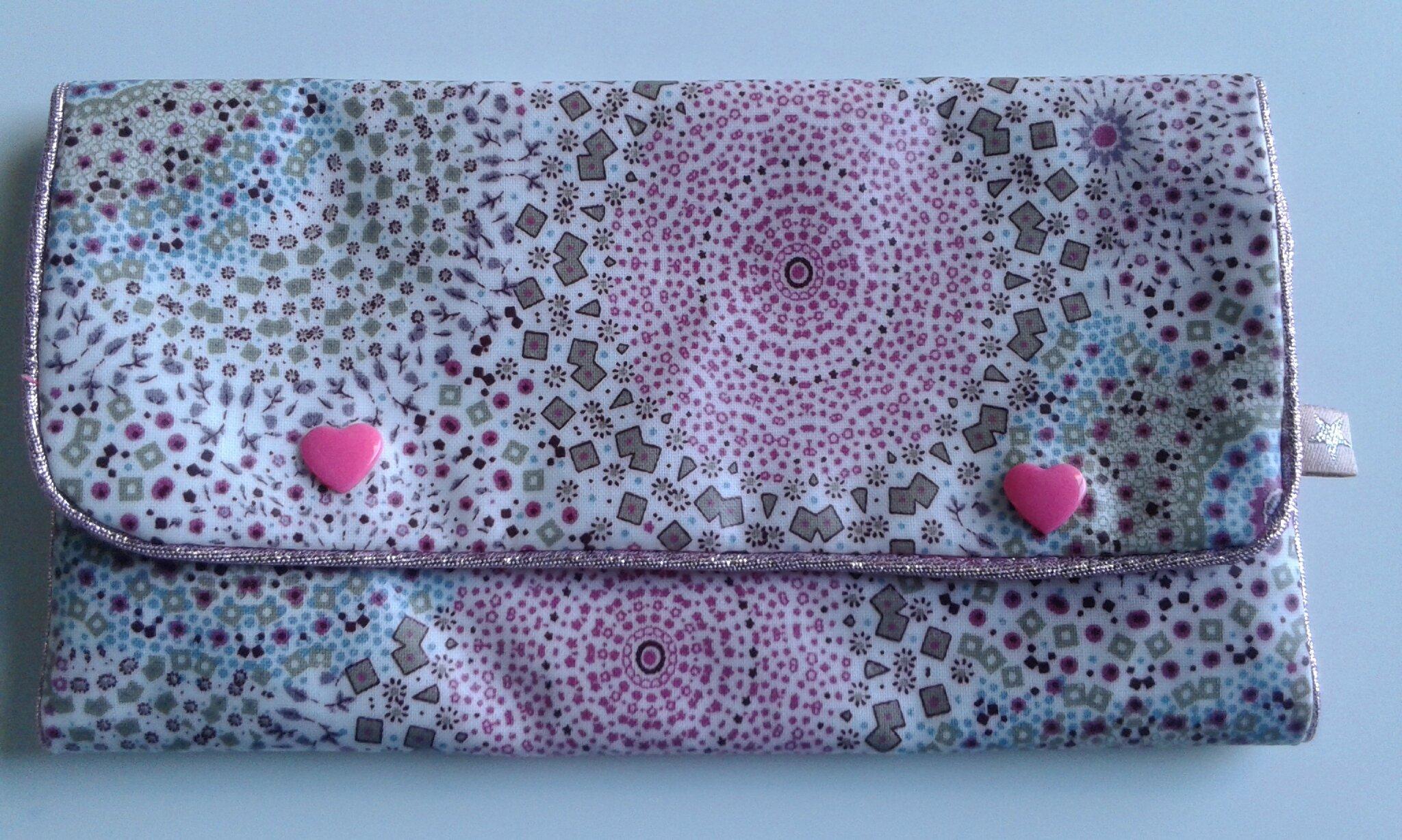 tuto de la pochette barrettes pour un sourire et des yeux qui p tillent. Black Bedroom Furniture Sets. Home Design Ideas