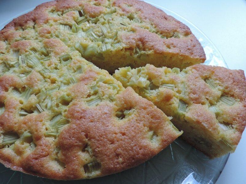 gâteau à la rhubarbe (11)