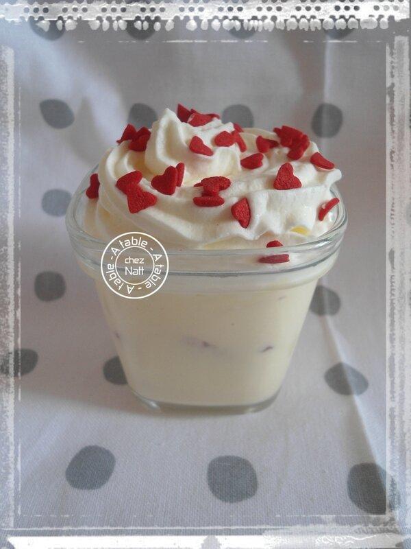 verrines crème au mascarpone et fraises