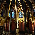 Visite de la sainte chapelle de paris