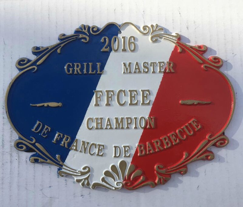 plaque grill master 2016