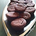 Muffins au chocolat et aux oranges confites