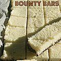 Trashfood : les bounty bars de trish deseine