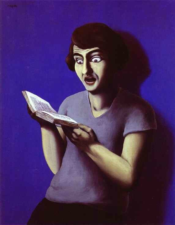 lectrice soumise 1928 magritte phil