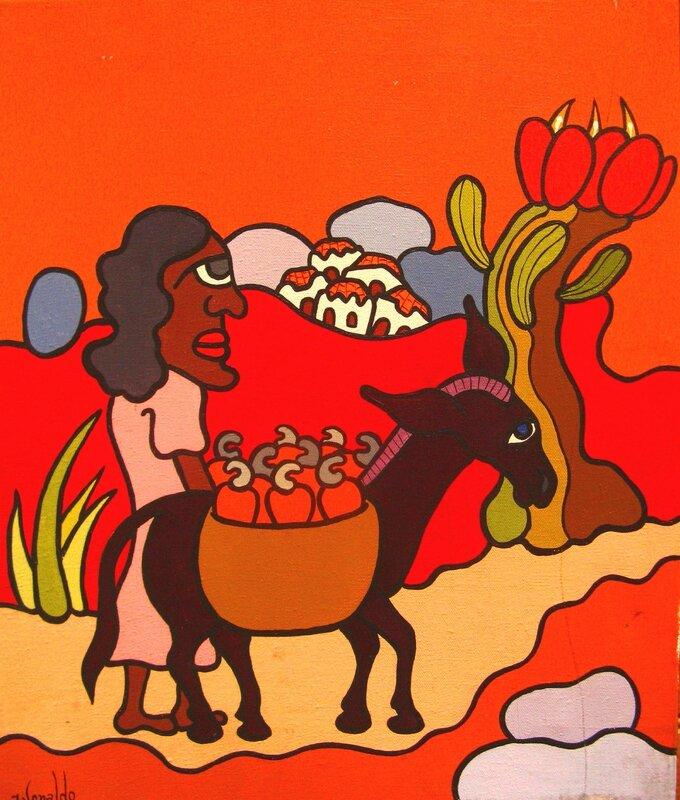 IVONALDO sans titre 1974 46 x 38