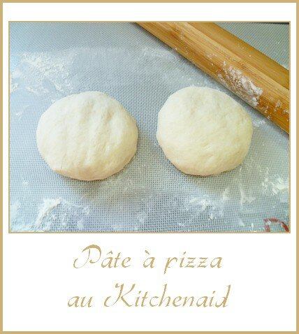 Pâte à pizza au Kitchenaid