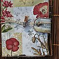 Album dame de kit avec la scrap box de mars : par une belle journée de printemps....