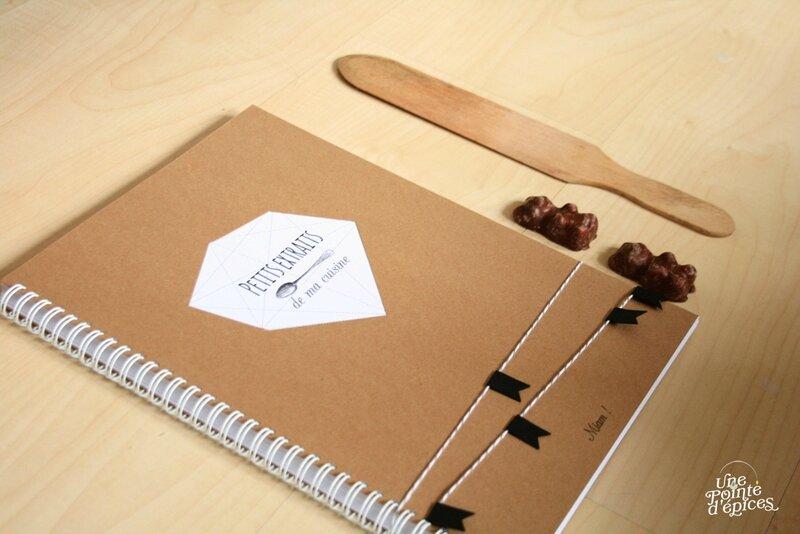 Cahier de recettes une pointe d 39 pices - Ecrire un livre de cuisine ...