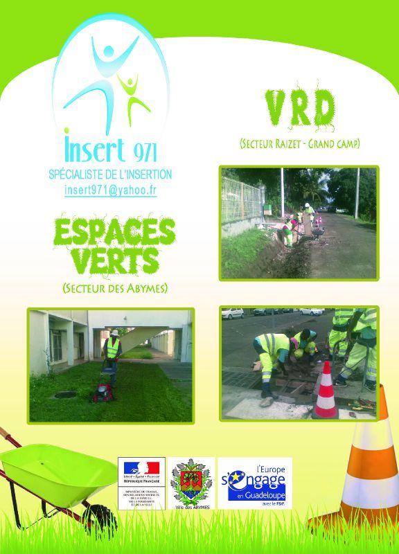 Chantier insertion espace vert association insert 971 for Espace vert 51