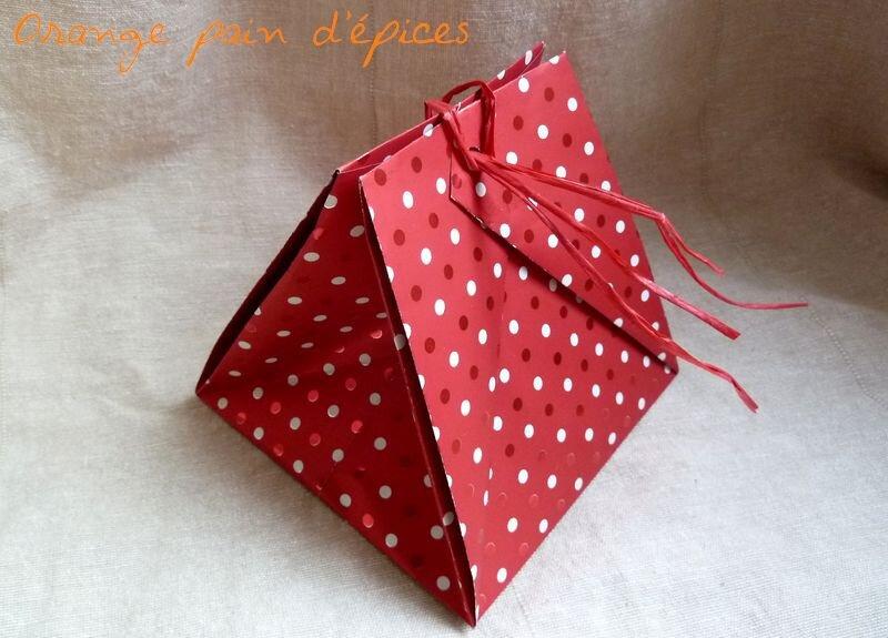 Petits sabl s la confiture orange pain d 39 pices - Papier cadeau origami ...