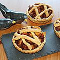 Tartelettes aux pommes confites