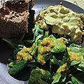 Assiettes végétariennes de février - suite