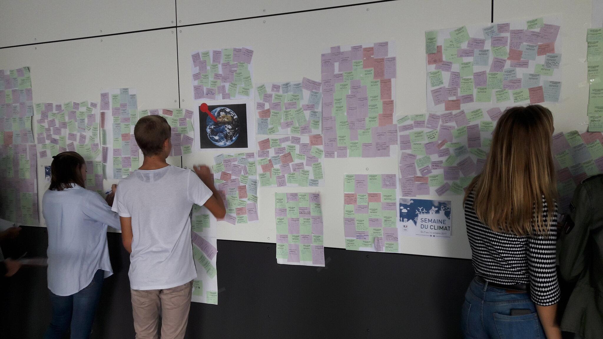 La semaine du climat au LEM en octobre 2017 : tout le monde s'est exprimé