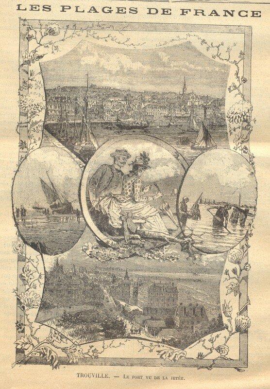 Le port vue de la jetée
