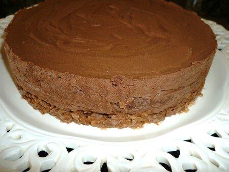 Recette gateau chocolat croustillant et mousseux