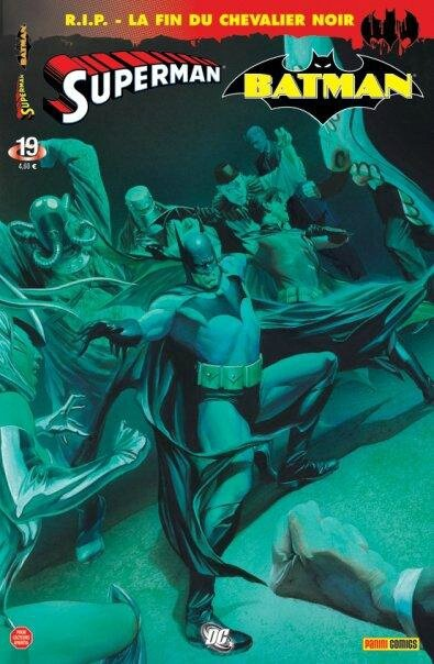 panini superman batman 19