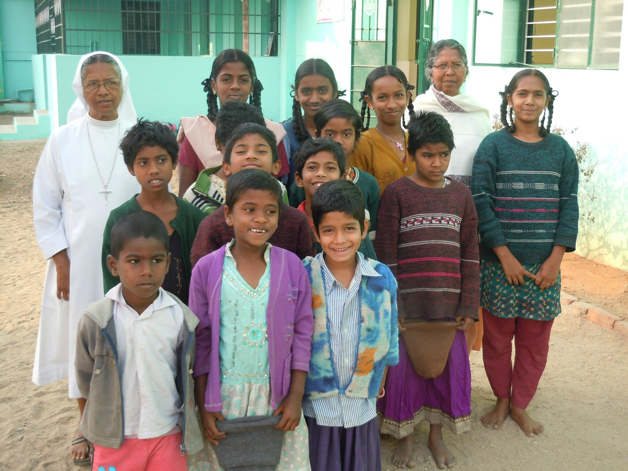Sneha Sadan - Prêts pour aller à l'école