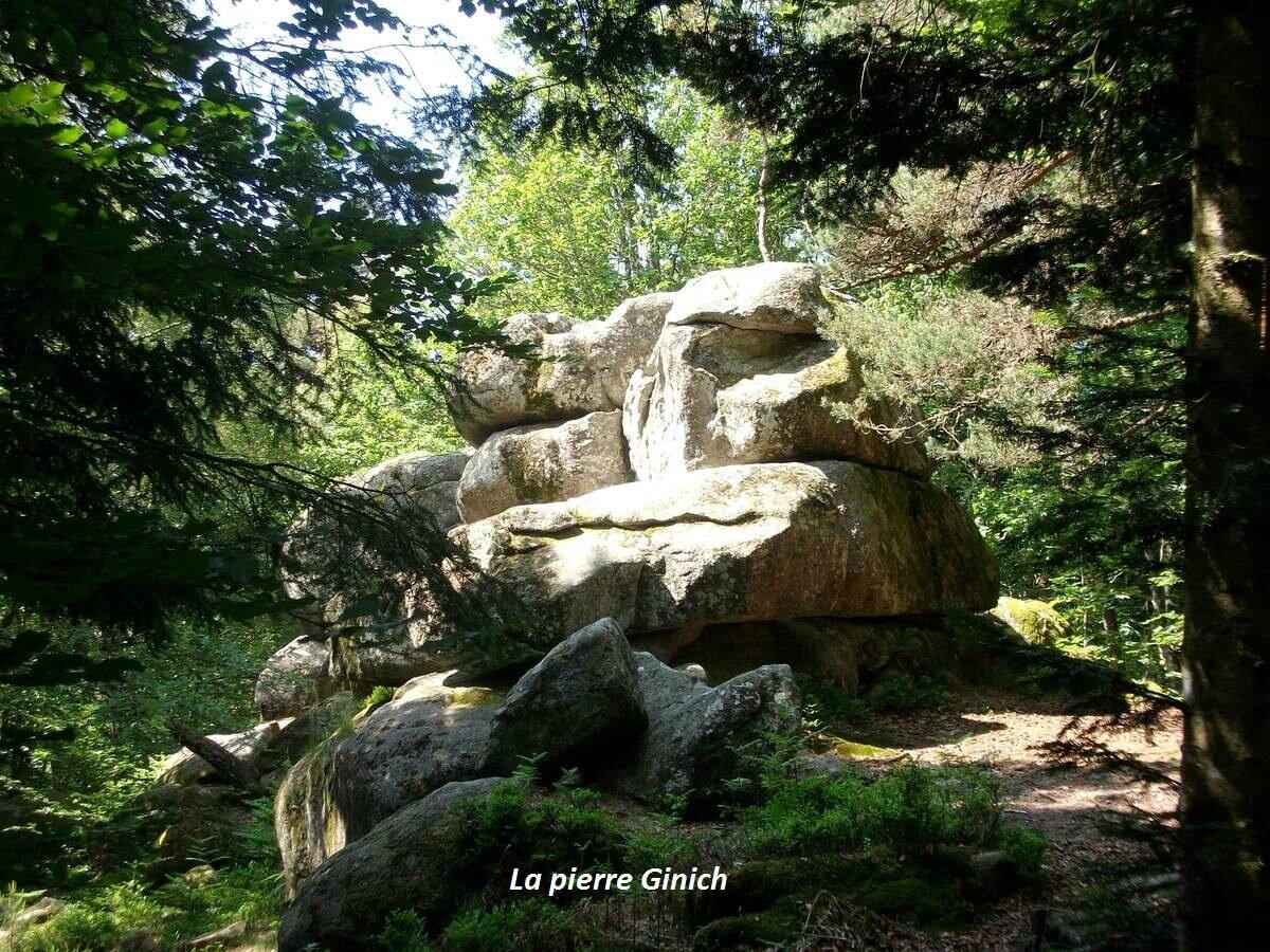 Randonnée à la Pierre Ginich - Arconsat 63