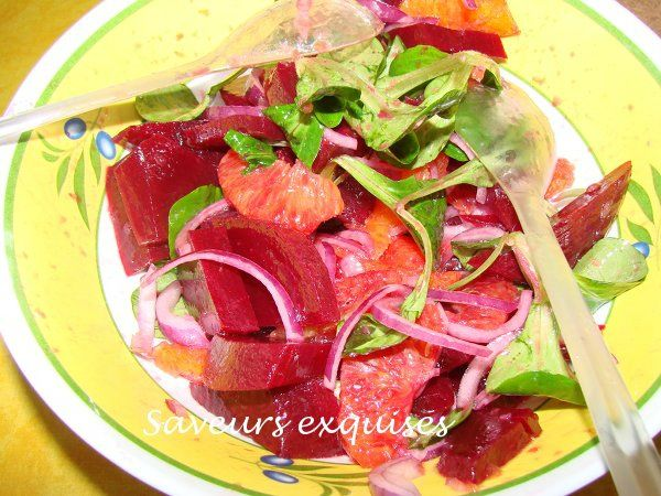 salade d'orange et betterave rouge1