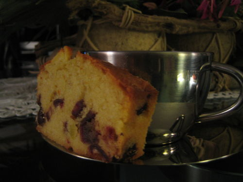 Cake aux dattes et aux pommes