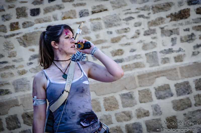 Carolo Game Show 2017 - Cosplay - Lara Croft-8