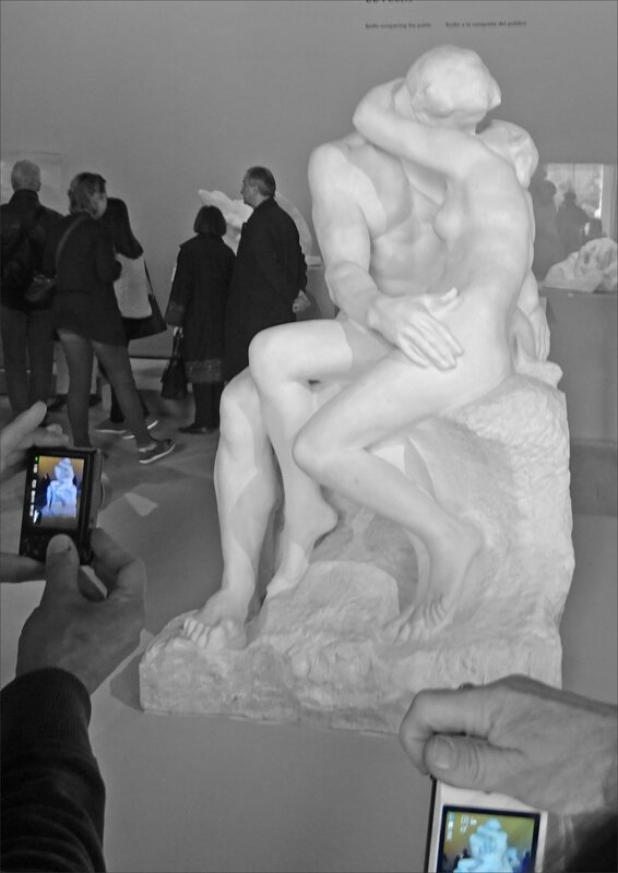 Paris expo Rodin photo baiser 240417